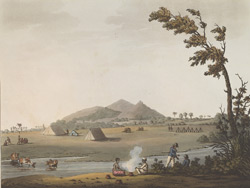 A View From The Royal Artillery Encampment, Conditore